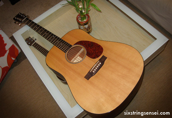 Used Martin DM Acoustic Guitar