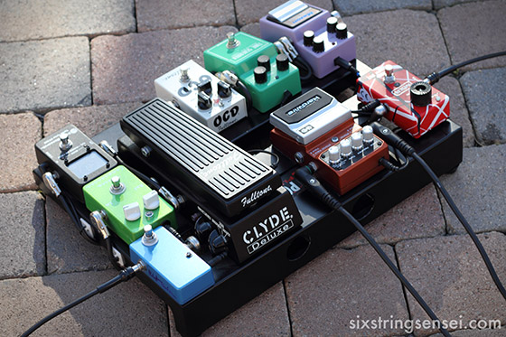 Guitar Pedal Board Built