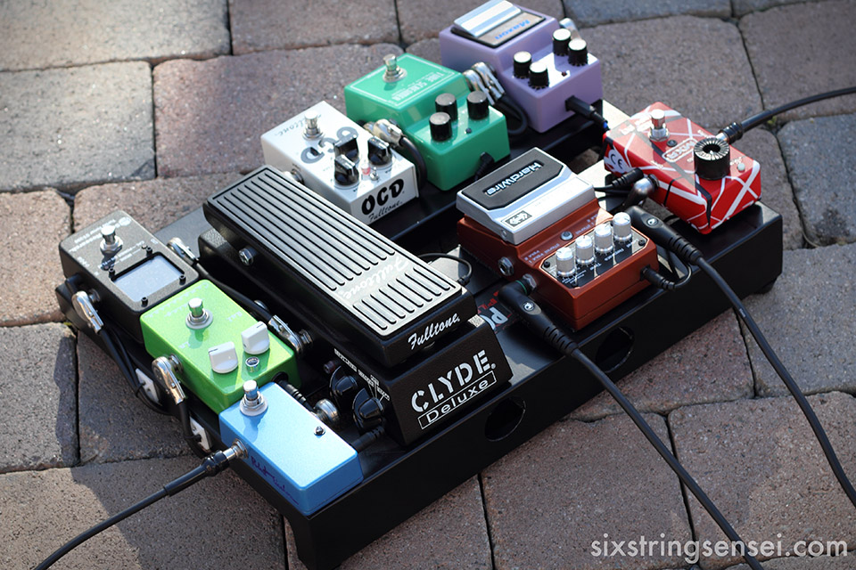 the absolute one stop guide to the guitar pedal board rh sixstringsensei com Bass Pedalboard Guitar Pedalboard