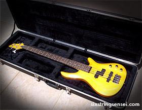 Cheap Bass Guitar and Case