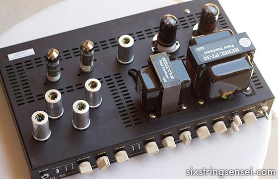Guitar Amplifier Top Inside